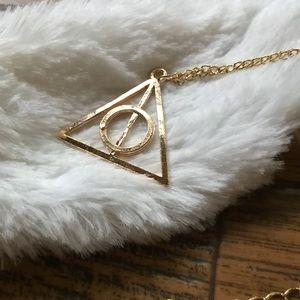 Jewelry - 5/$25 🔺Harry Potter Deathly Hallows Symbol J1056
